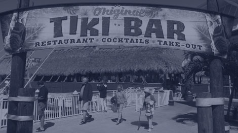Tiki Bar in Fort Pierce